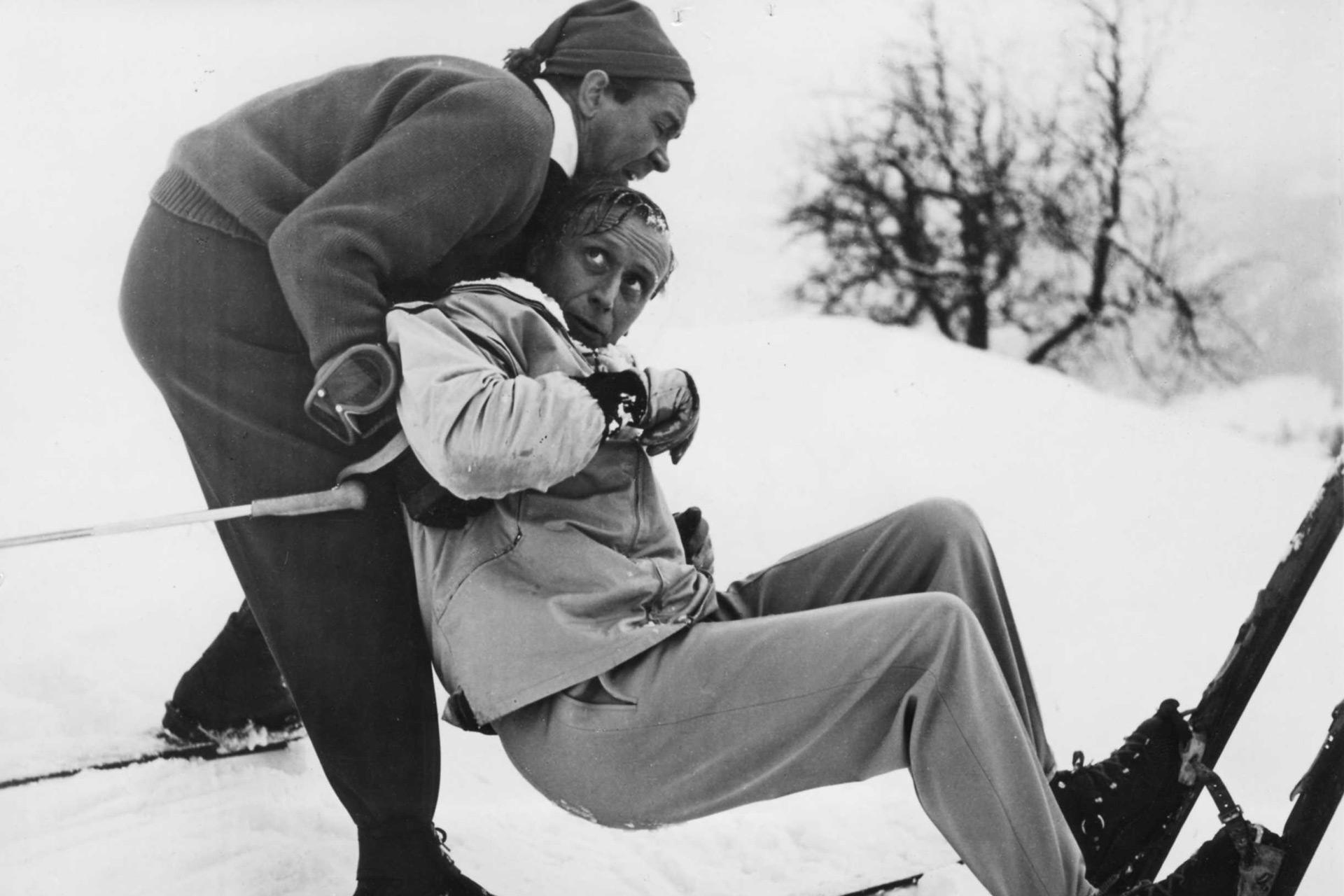Drei Männer Im Schnee Ganzer Film